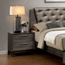 Manvel Antique Gray Finish 6-Piece Bedroom Set