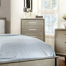 Snyder Contemporary Gray 4-Drawer Bedroom Chest