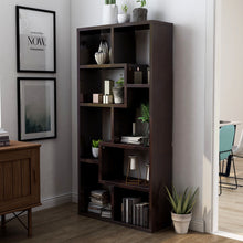 Verena Modern Contoured Leveled Bookcase Display Stand