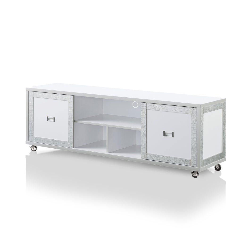 Norlane Contemporary 60-inch White TV Stand