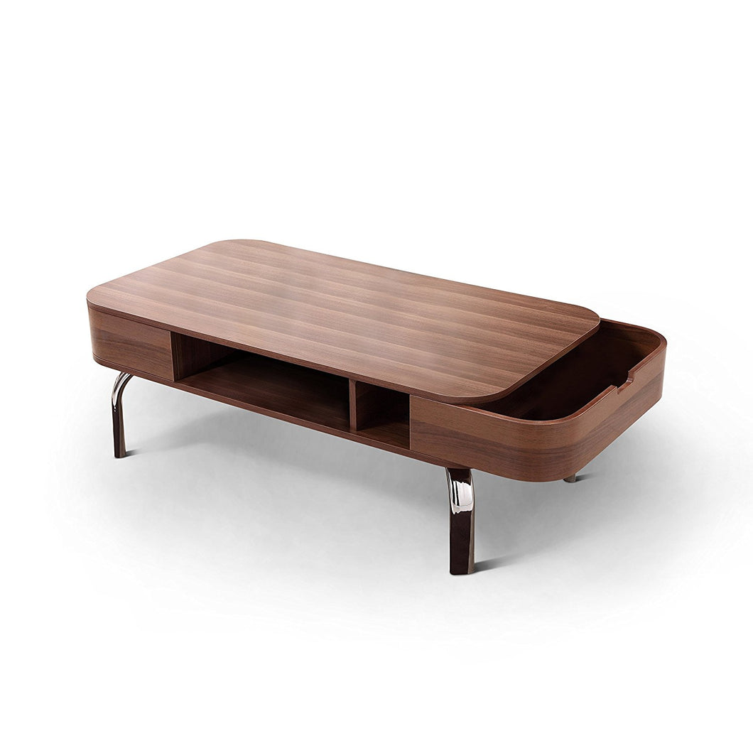 Bradley Modern Contemporary Style Coffee Table
