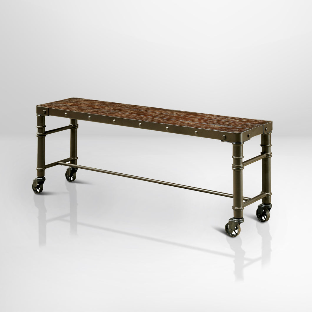 Umberto Industrial Metal Bench