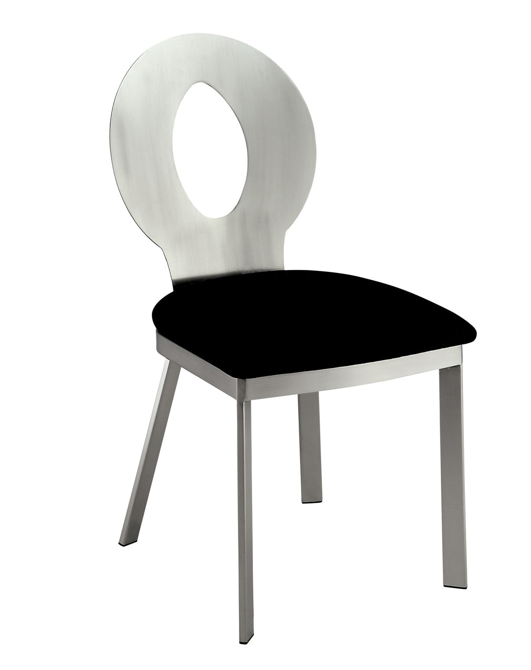 Valo Modern Style Stain Plated Dining Chair