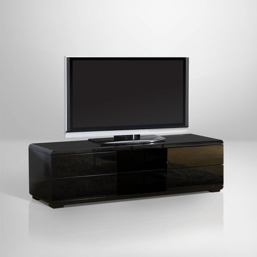 Cerro Contemporary Glossy Entertainment 59-inch TV Stand