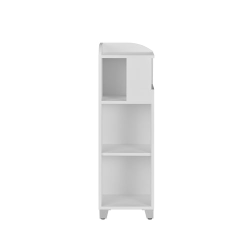 Jahna Modern White Bathroom Cabinet