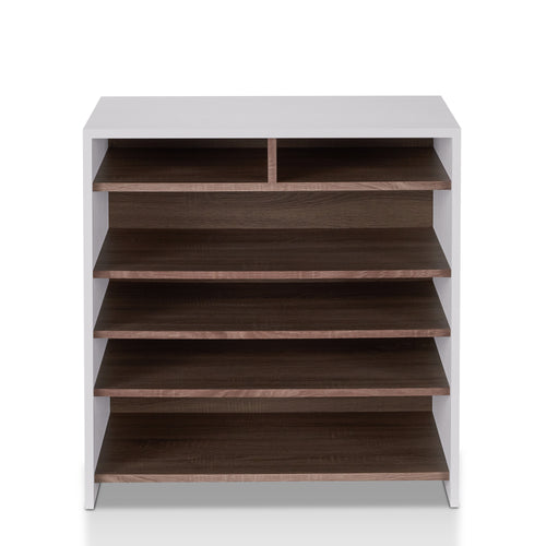 Trentino Modern Chestnut Brown Shoe Cabinet