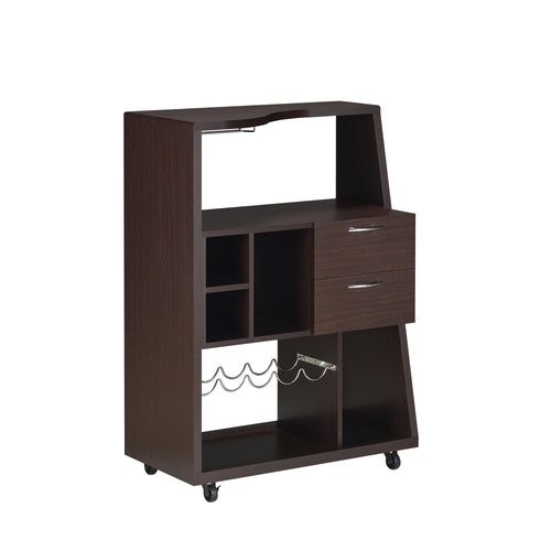 Marinelli Modern Walnut Mini Bar