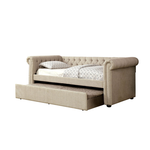 Chestershire Contemporary Beige Daybed
