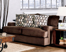 Donda Transitional Premium Velvet Loveseat