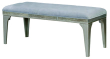 Solis Contemporary Tufted Flannelette Silver 50-Inch Dining Bench