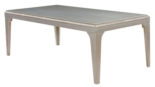 Solis Glamorous Silver Dining Table