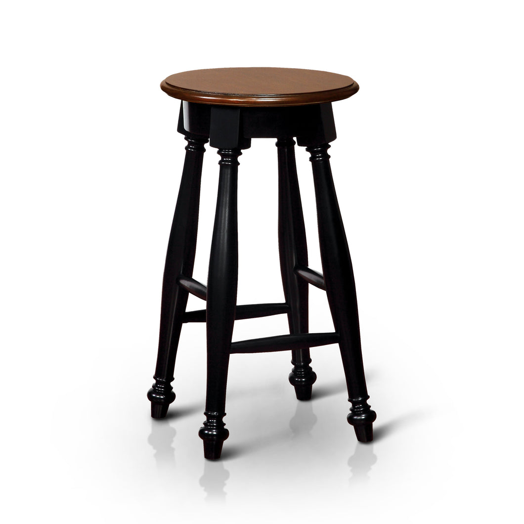 Azura Two Tone Counter Height Bar Stool, Set of 2