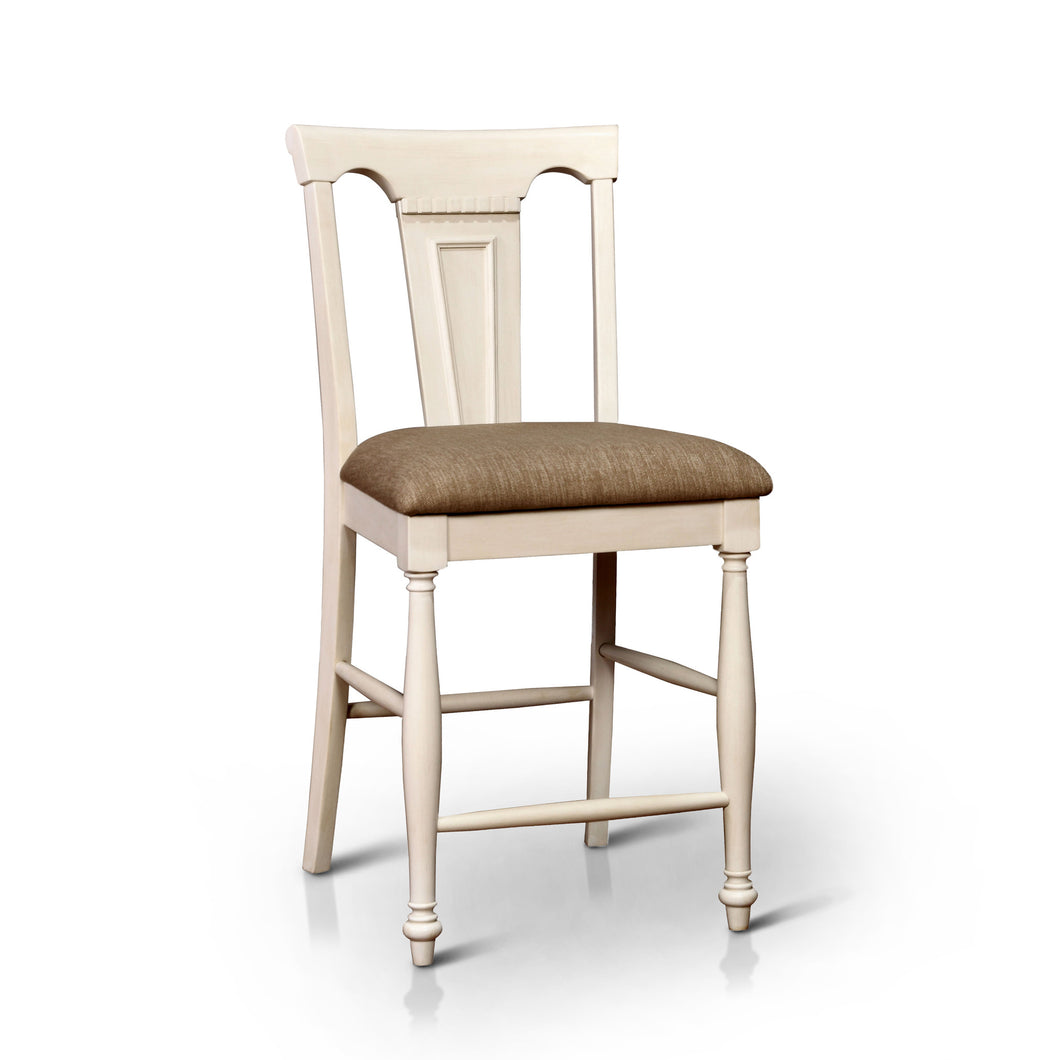 Zarella Two Tone Counter Height Dining Chair, Set of 2
