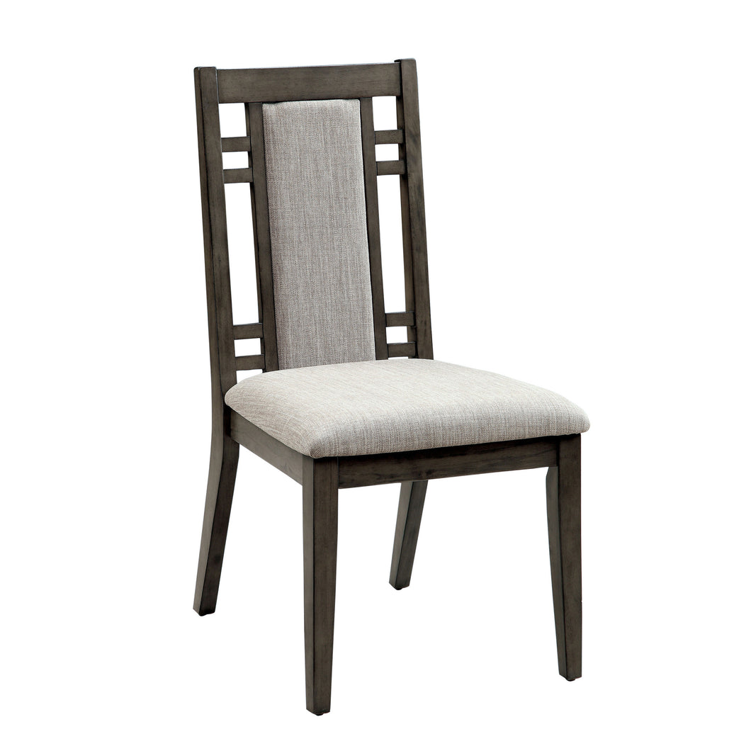 Wildstream Transitional Gray Dining Chair (Set of 2)