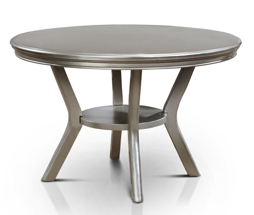 Quincy Champagne  Round Dining Table