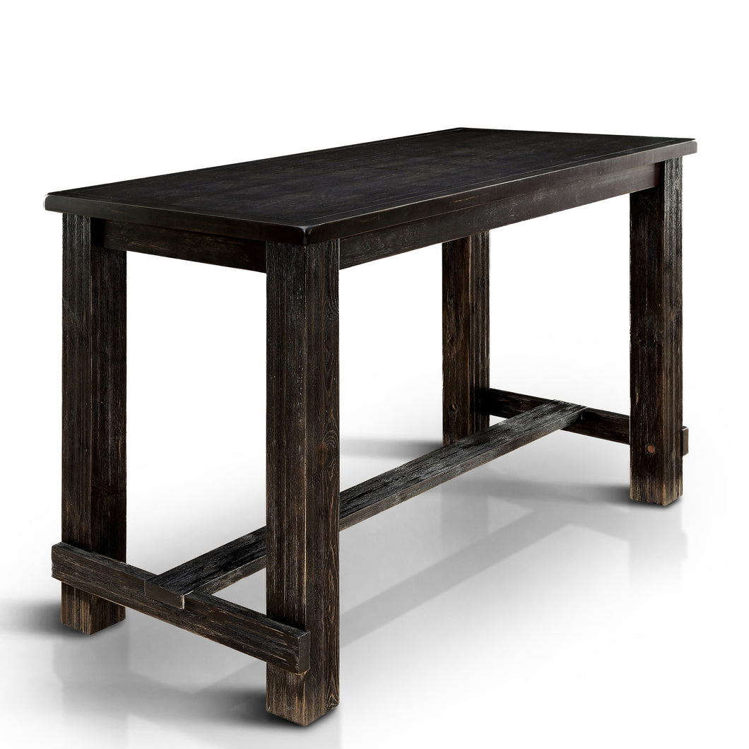 Ambrosia Antique Black Bar Height Table
