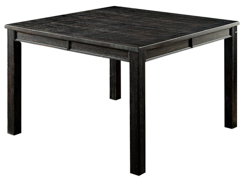 Harlow Rustic Antique Black Counter Height Dining Table