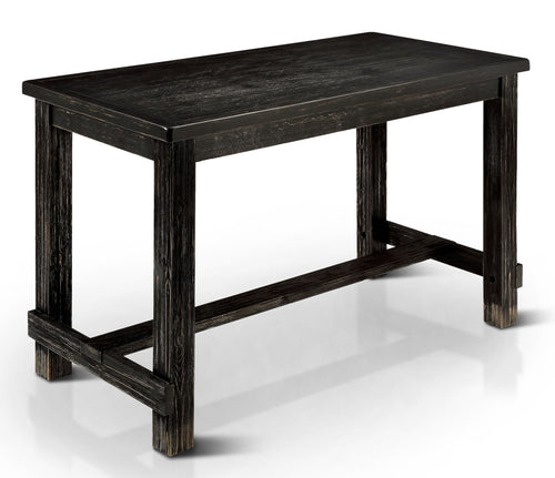 Ambrosia Antique Black Counter Height Dining Table