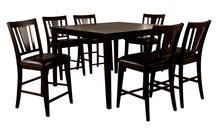 Bridgette Transitional Espresso Counter Height Dining Set