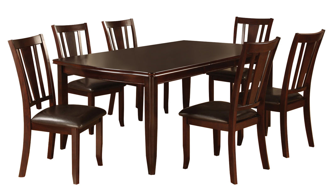 Abelline Transitional 7-Piece Espresso Dining Set u2013 24/7 Shop At Home
