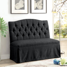 Loriana Transitional Loveseat Bench