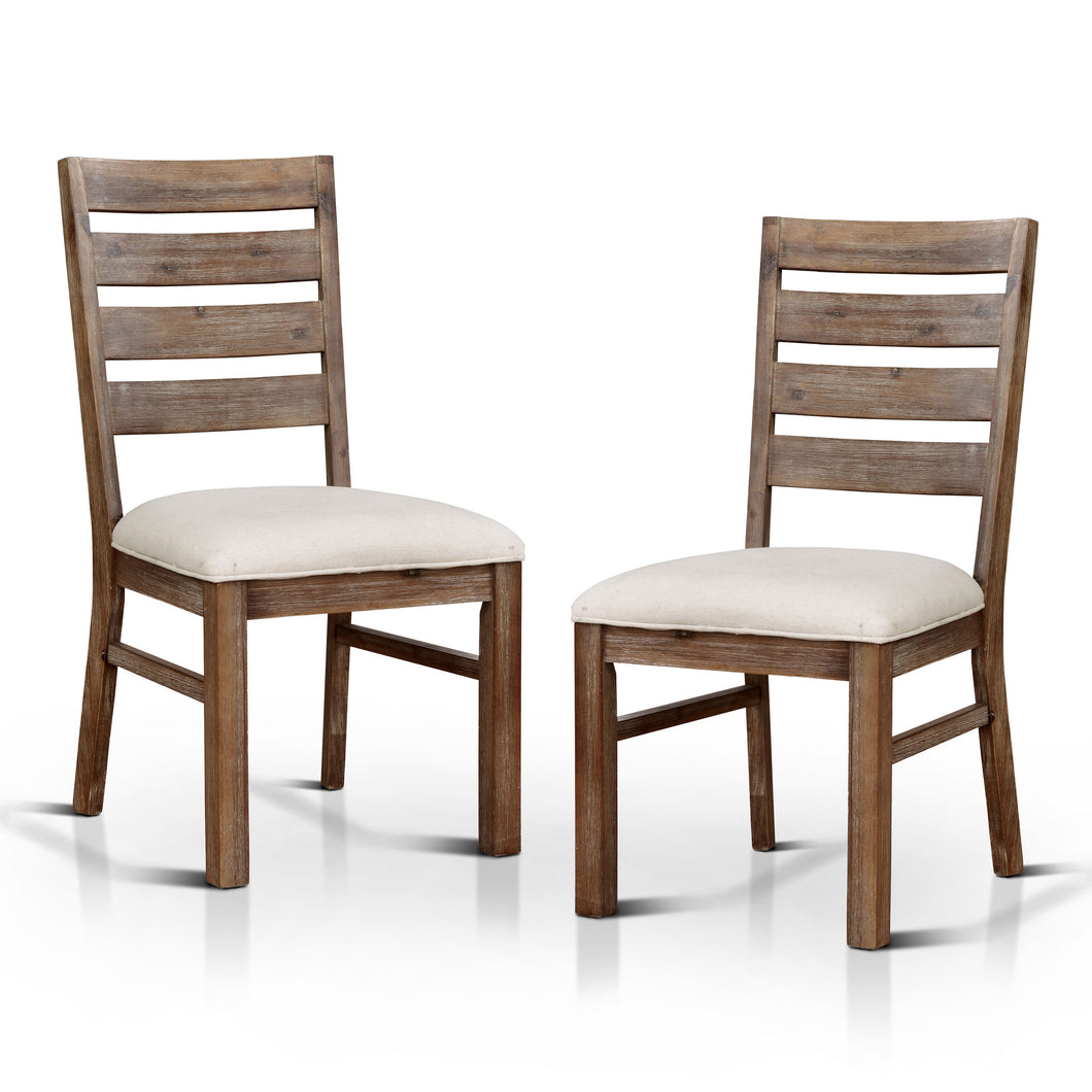 Sabrina Rustic Dining Chair, Set of 2