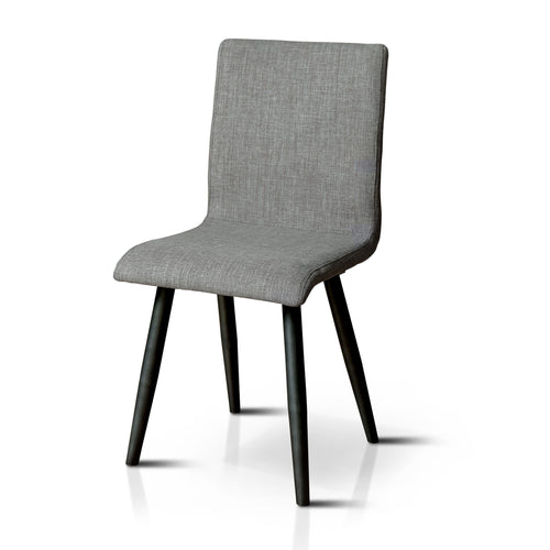 Astrid Retro Gray Dining Chair, Set of 2