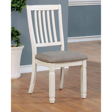 Hurley Rustic Antique White Side Chairs (Set of 2)