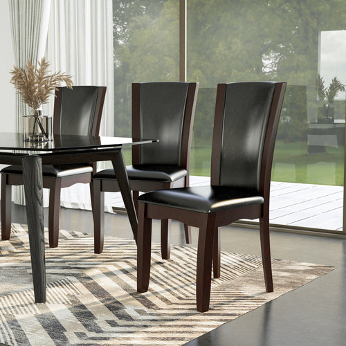 Manhattan Leatherette Dining Chair (Set of 2)