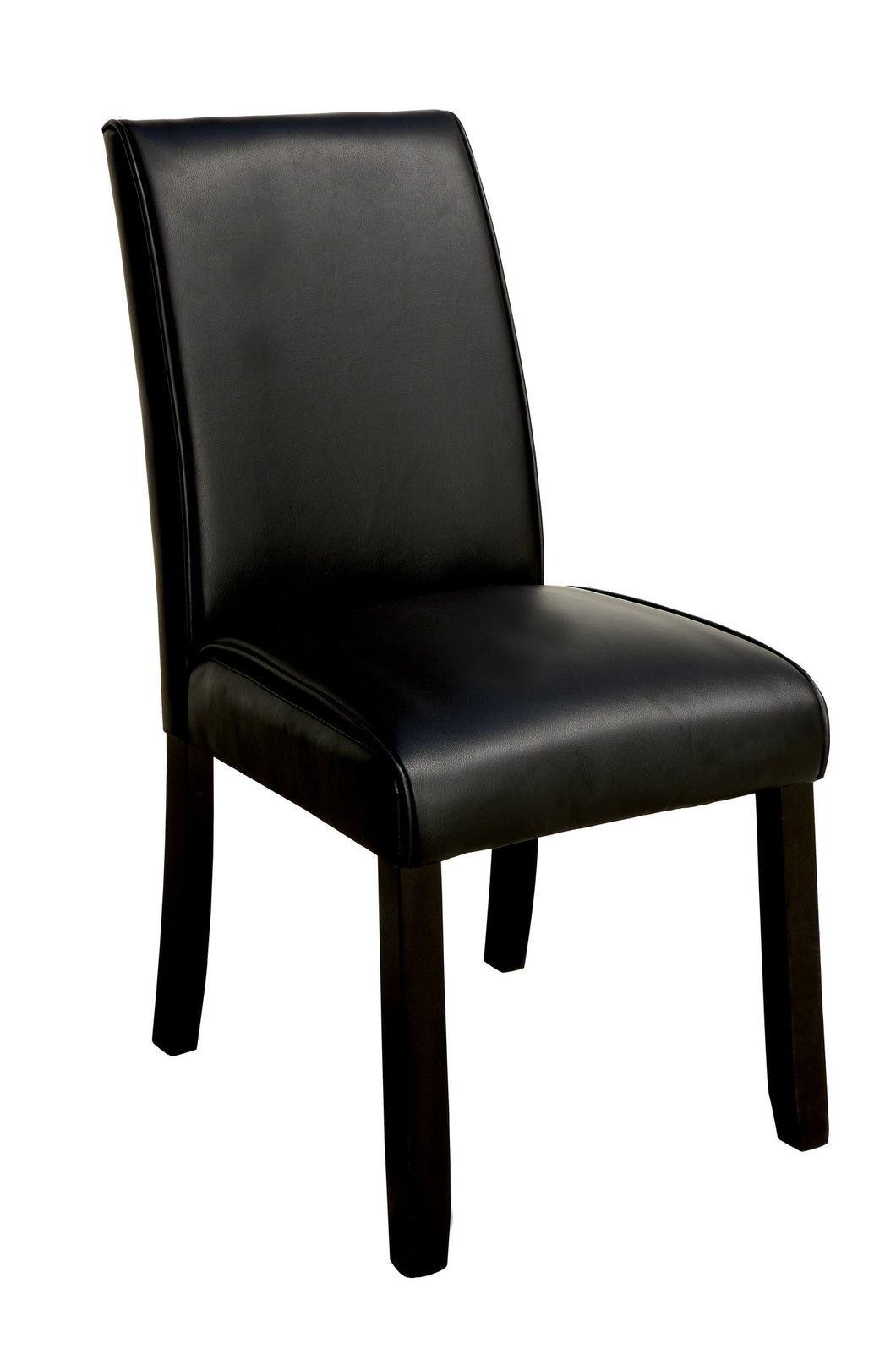 Ephraim Modern Leather Dining Chair, Set of 2