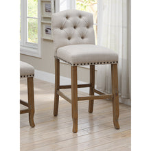 Fridan Rustic Ivory Bar Chairs (Set of 2)