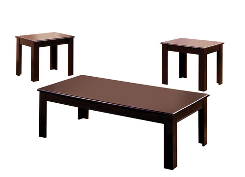 Town Square Classic Style 3-Piece Coffee and End Table Set