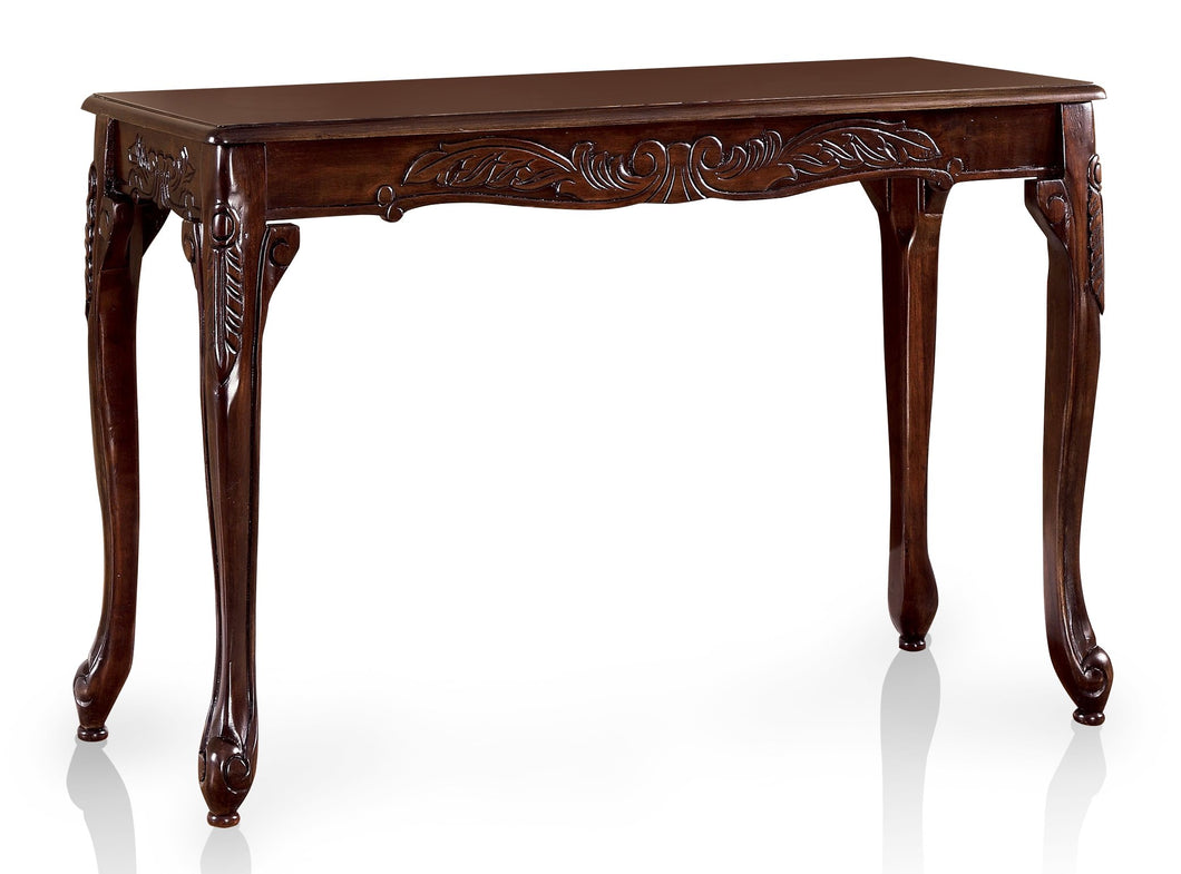 Lucia Traditional Dark Cherry Cabriole Leg Coffee Table