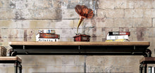 Julien Contemporary Industrial-Inspired Antique Black Bridge
