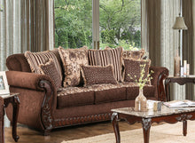 Gilmore Traditional Loose Pillow Back Rolled Arm Sofa