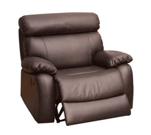 Somerino Transitional Brown XL Recliner Arm Chair