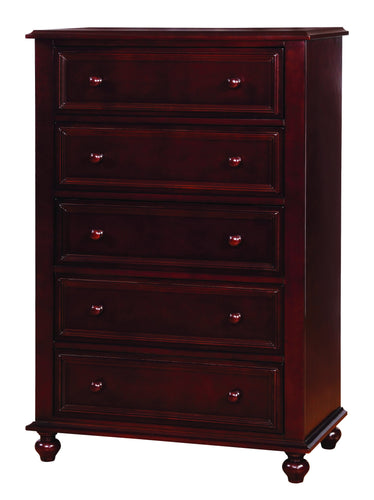 Camarena Traditional 5-Drawer Youth Chest
