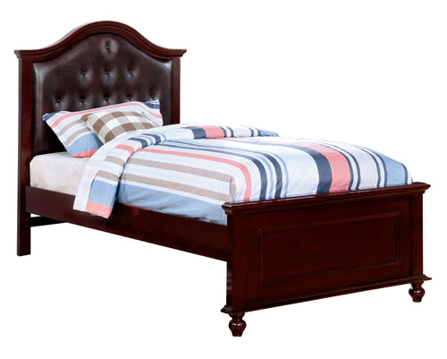Camarena Traditional Camelback Platform Bed