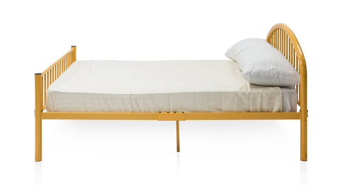 Tianna Contemporary Full Metal Youth Bed