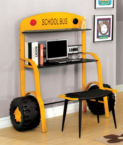 Enrique Yellow Bus Inspired Workstation
