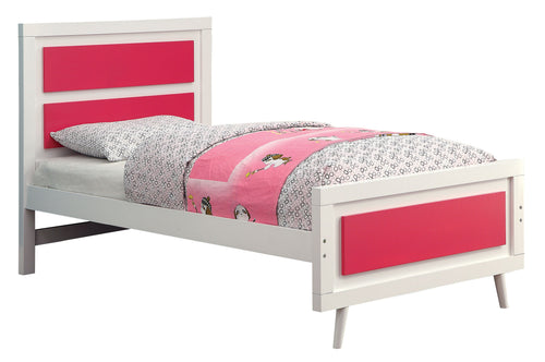 Alonzo Contemporary Two-Tone Full-size Youth Platform Bed