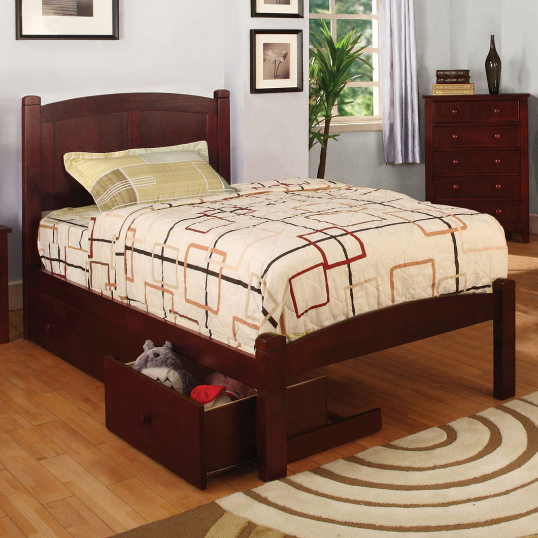Cara Mission Style Cherry Youth Bed