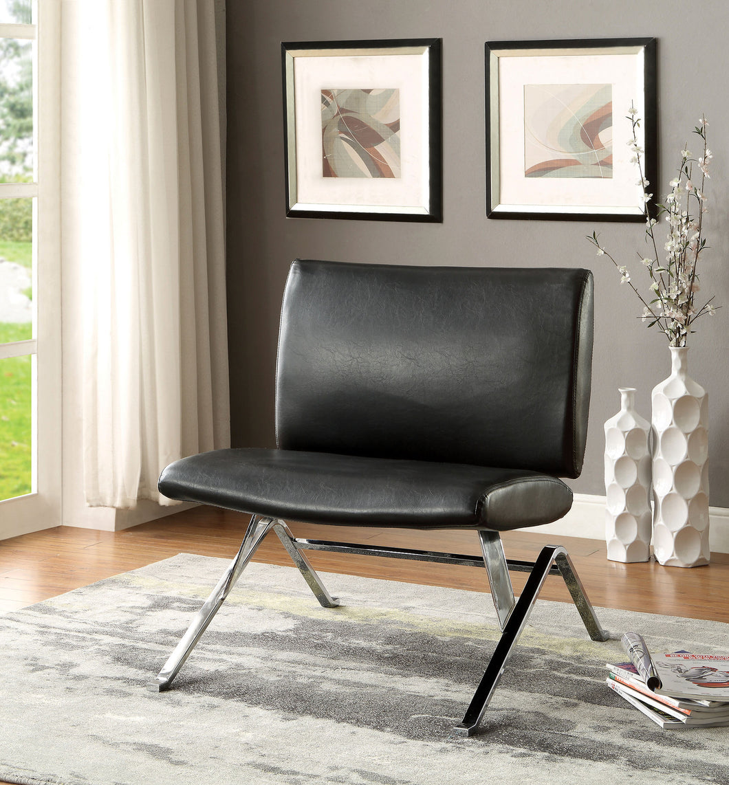 Ericka Leatherette Upholstered Accent Chair
