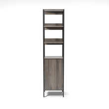 Groden Modern Grey Bookcase