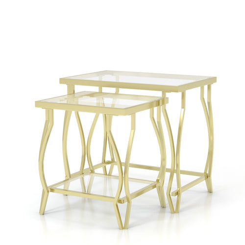 Judy Contemporary Nesting Table Set