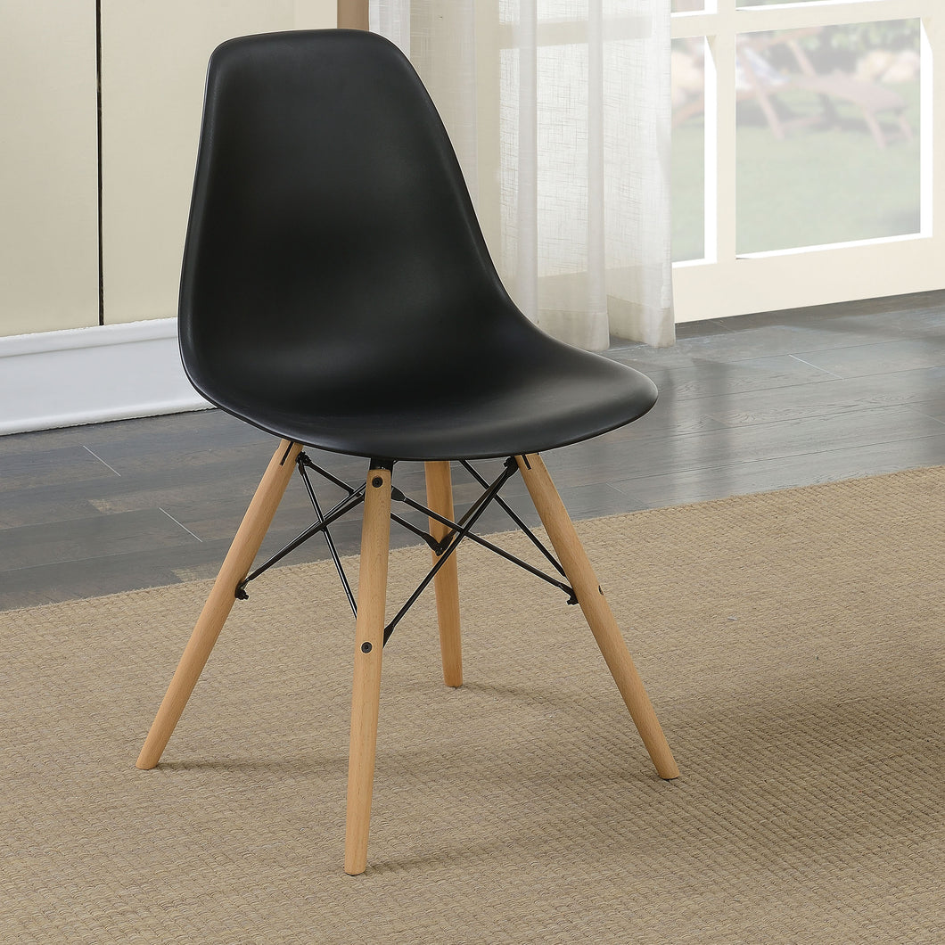 Lucina Mid-Century Modern Accent Chairs (Set of 2)