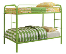 Stella Contemporary Twin Over Twin Full Metal Youth Bunk Bed