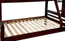 Sully Wood Frame Full Over Full Dark Walnut Youth Bunk Bed
