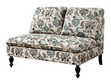 Madirra Contemporary Fabric Love Seat Bench