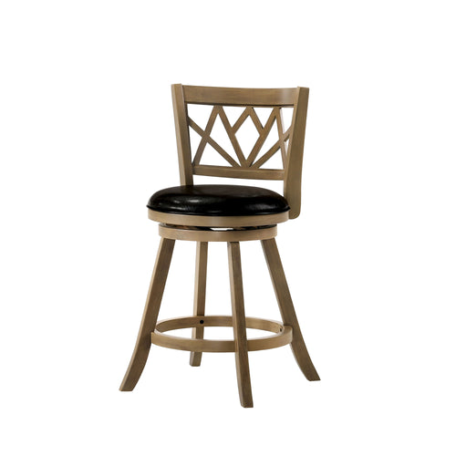 Lillie Transitional Maple Counter-height Barstool